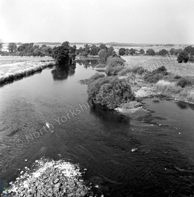 Langwathby Bridge and River Eden